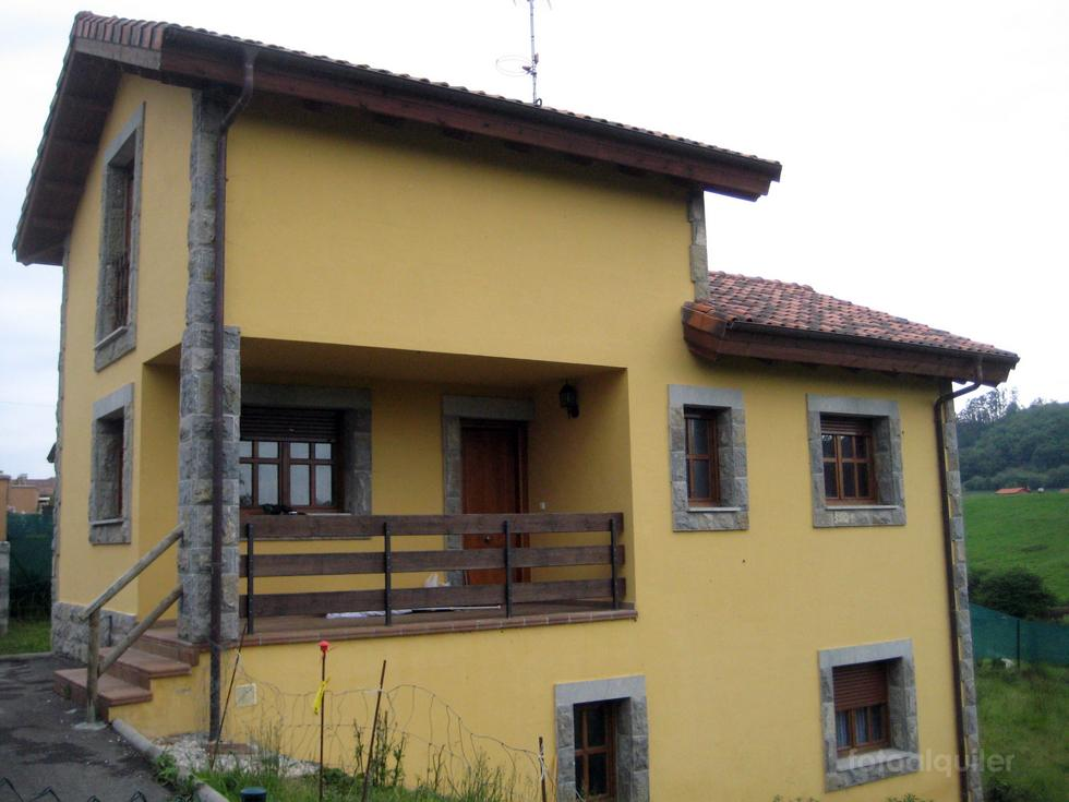 Alquiler de chalet en la urbanización El Ganciosu, La Borbolla, Llanes, Asturias, ref.: llanes6388