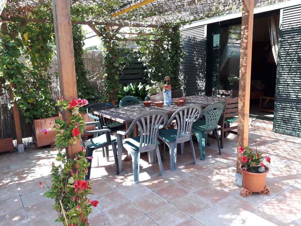 Alquiler de casa adosada con jardín y piscina en Lloret de Mar, Girona