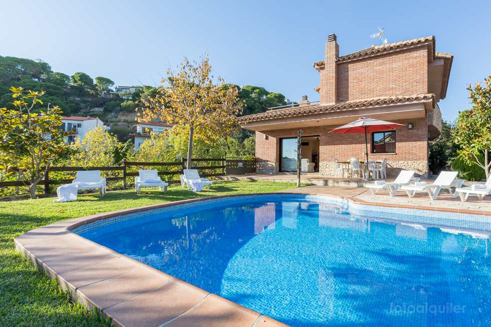 Villa Llevant en Lloret de Mar, Costa Brava, Girona.