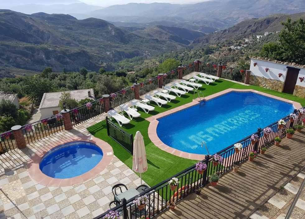 Los  Macabes, Apartamentos Rurales en La Alpujarra, Mecina Bombarón, Granada Ref: losmacabes