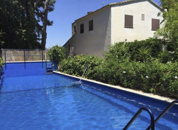 Masía La Molinera, alquiler de casa rural con piscina  en Xerta, Tarragona