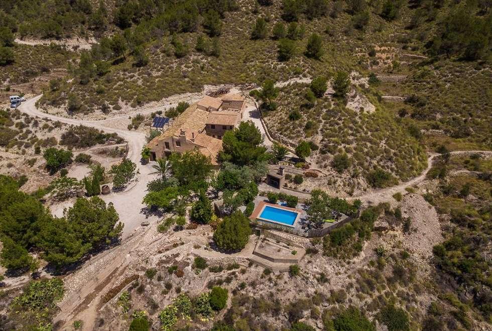 Casa Rural Masía L´Ancornia en Tibi, Alicante