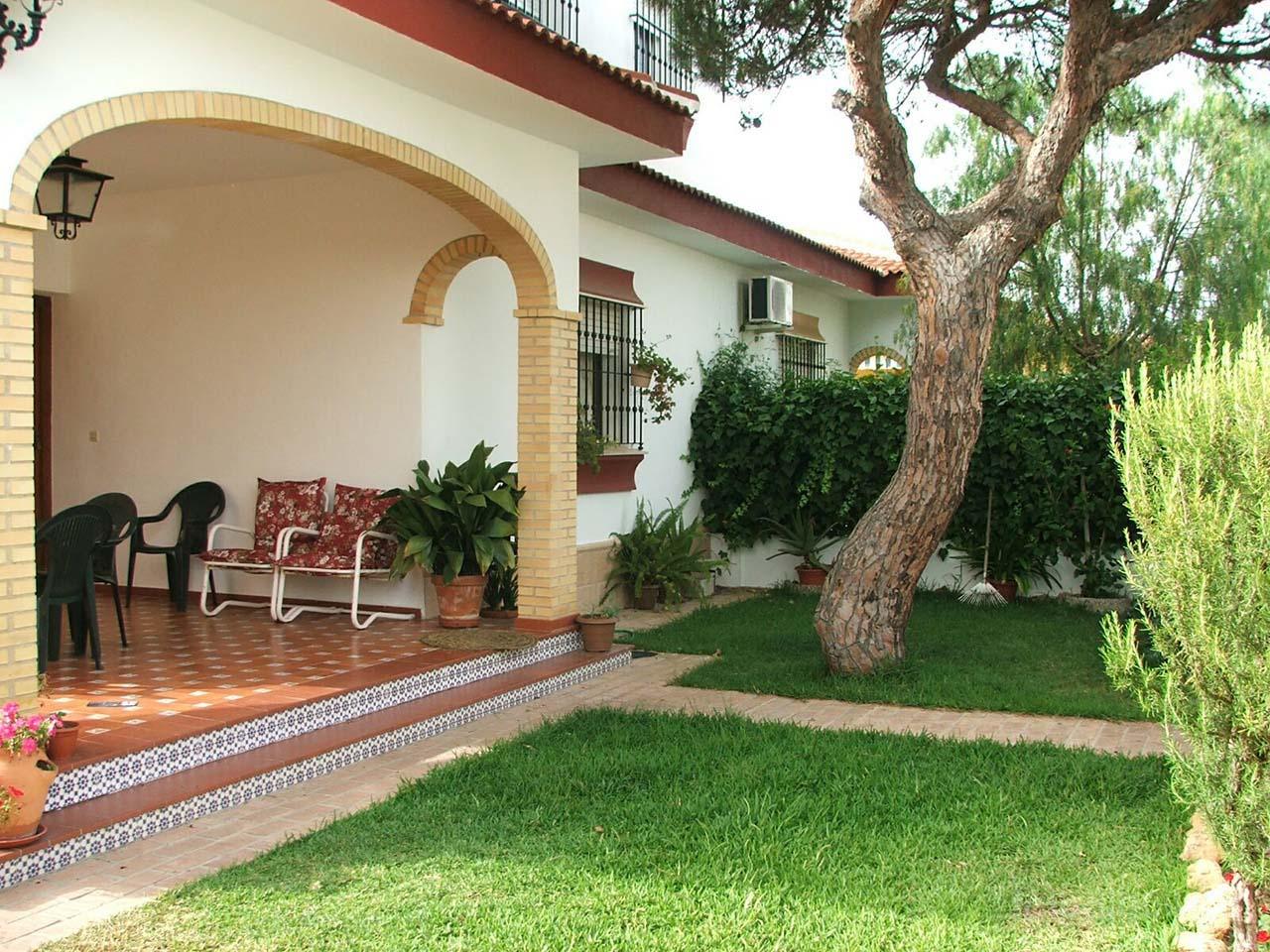 Chalet con jardín en Matalascañas, Huelva