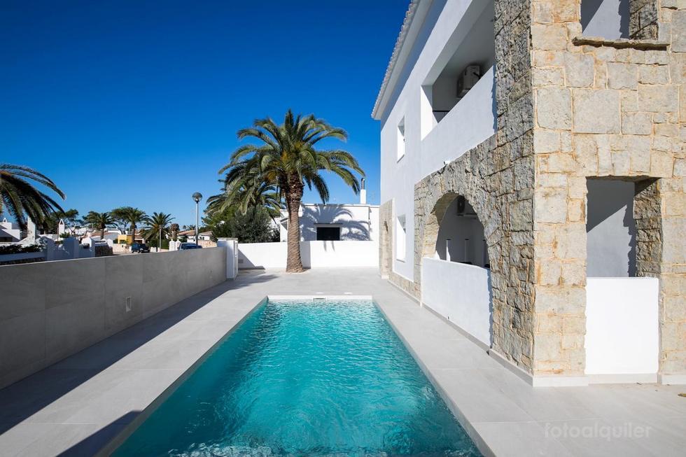 Apartamento Marei I en Cala Blanca, Ciutadella, Menorca