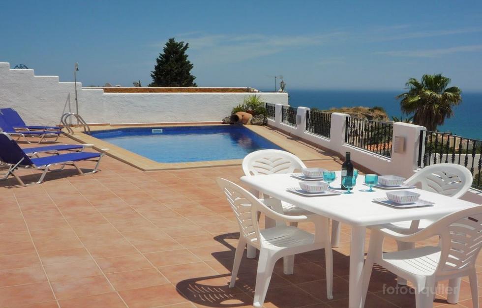 Apartamento en Mojacar con piscina privada