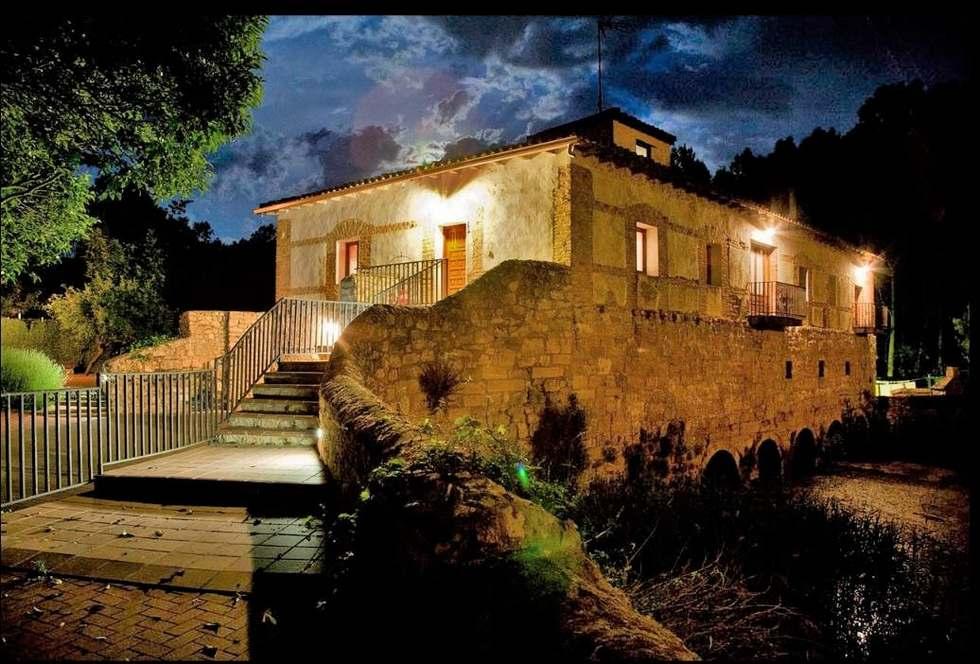 El Molino de Torquemada, casa rural con precioso jacuzzi junto al río Pisuerga en Torquemada, Palencia.