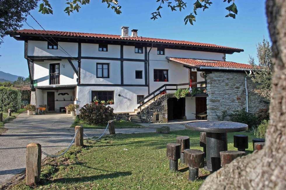 Casa Rural Monte Baserria en Bolibar, Vizcaya