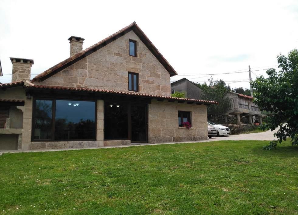 O Eido do Farruco, casa rural con jardín y barbacoa en Rías Bajas, Ponte-Caldelas, Pontevedra.