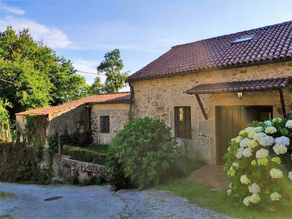 Casa Rural O Lughar DarribaFogar Natural, San Ourente de Entíns, Outes, A Coruña
