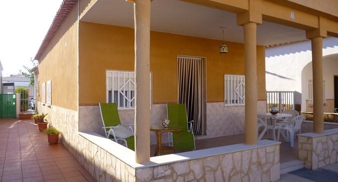 Alquiler casa vacaciones 4 dormitorios en Oliva, Valencia