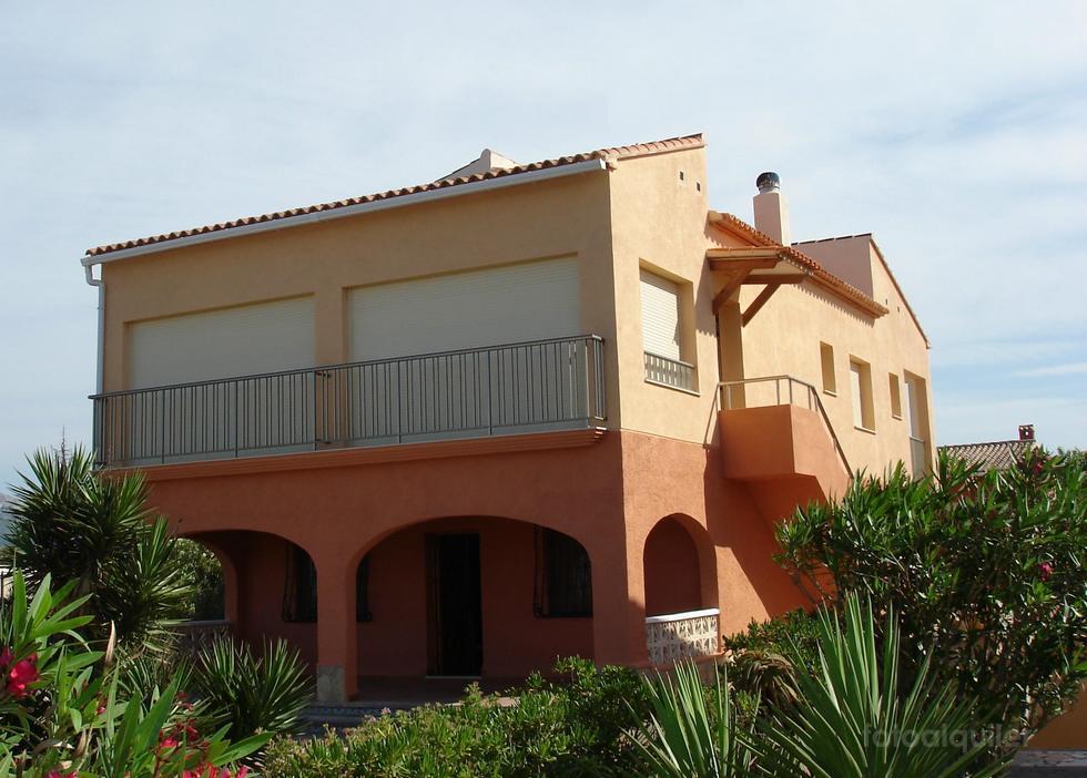 Alquiler de casa en Playa de Oliva, primera linea, Oliva, Valencia