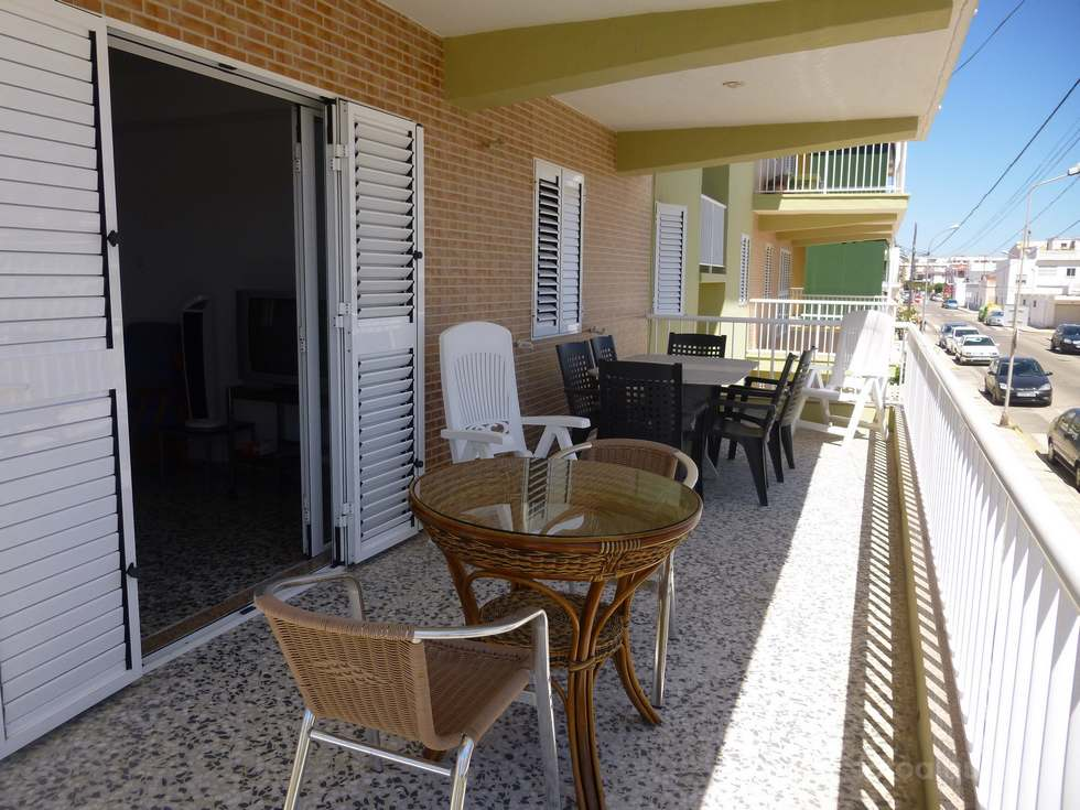 Alquiler apartamento en la playa Pau-Pi, Oliva Valencia