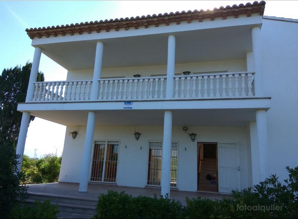 Alquiler de casa rural grande en Oliva, Playa Rabdells, Valencia