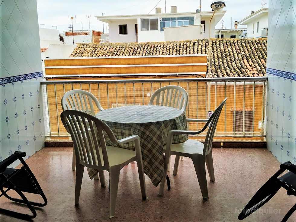 Alquiler de apartamento playa de Pau Pi, Oliva, Valencia
