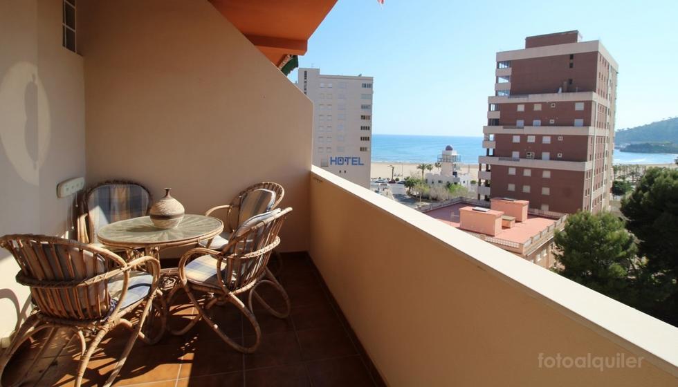Apartamento tres habitaciones con vistas a la playa de La Concha, Oropesa del Mar