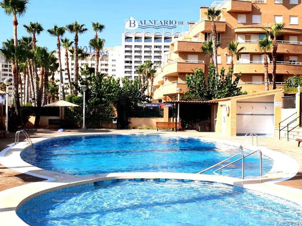 Alquiler de apartamento en primera linea de playa frente a los jardines de Marina D´Or, Oropesa del Mar, Castellón, ref.: oropesa10323
