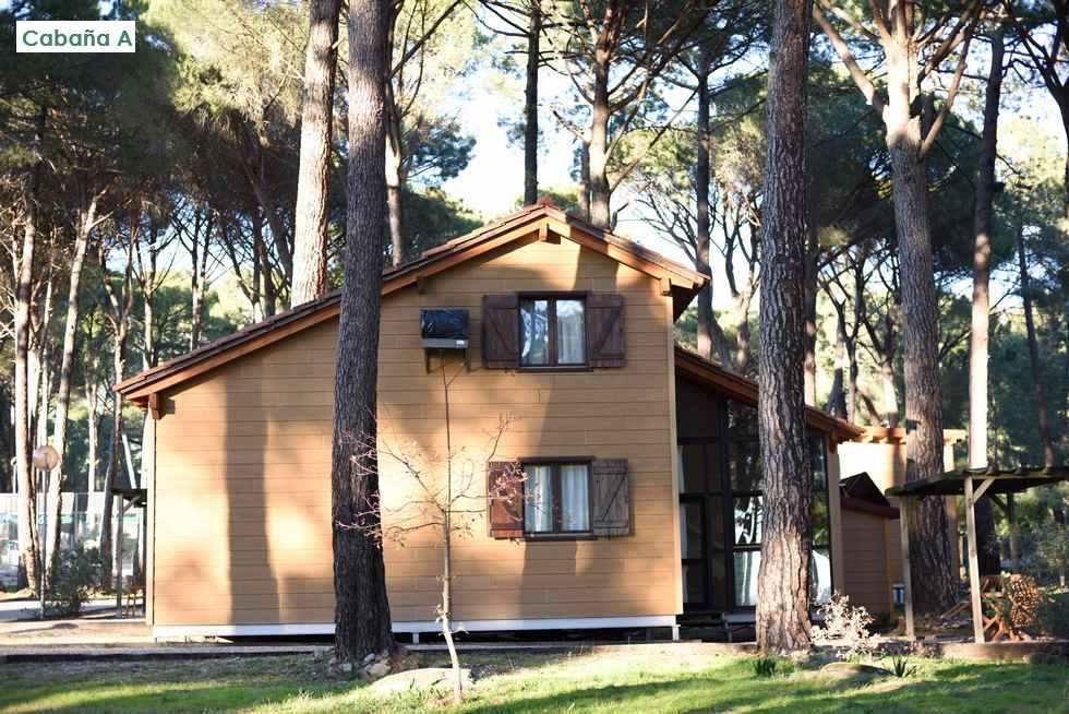 Paraíso del Tiétar, casas rurales en Ávila, La Adrada. Camping con cabañas de madera. Ref: paraisodeltietar