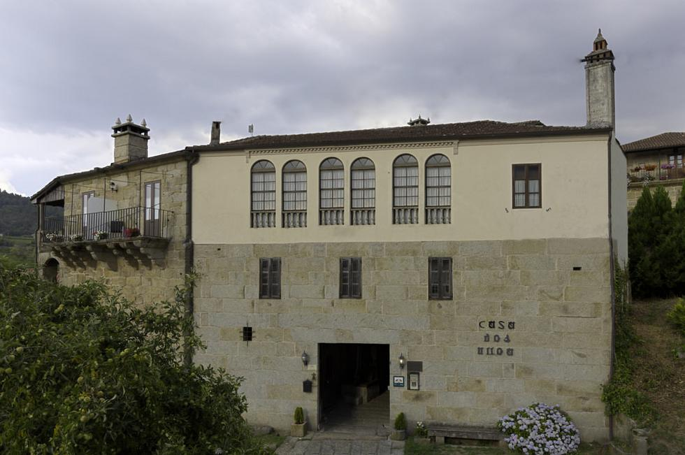 Pazo dos Ulloa, Ribadavia, Ourense, comarca del Ribeiro
