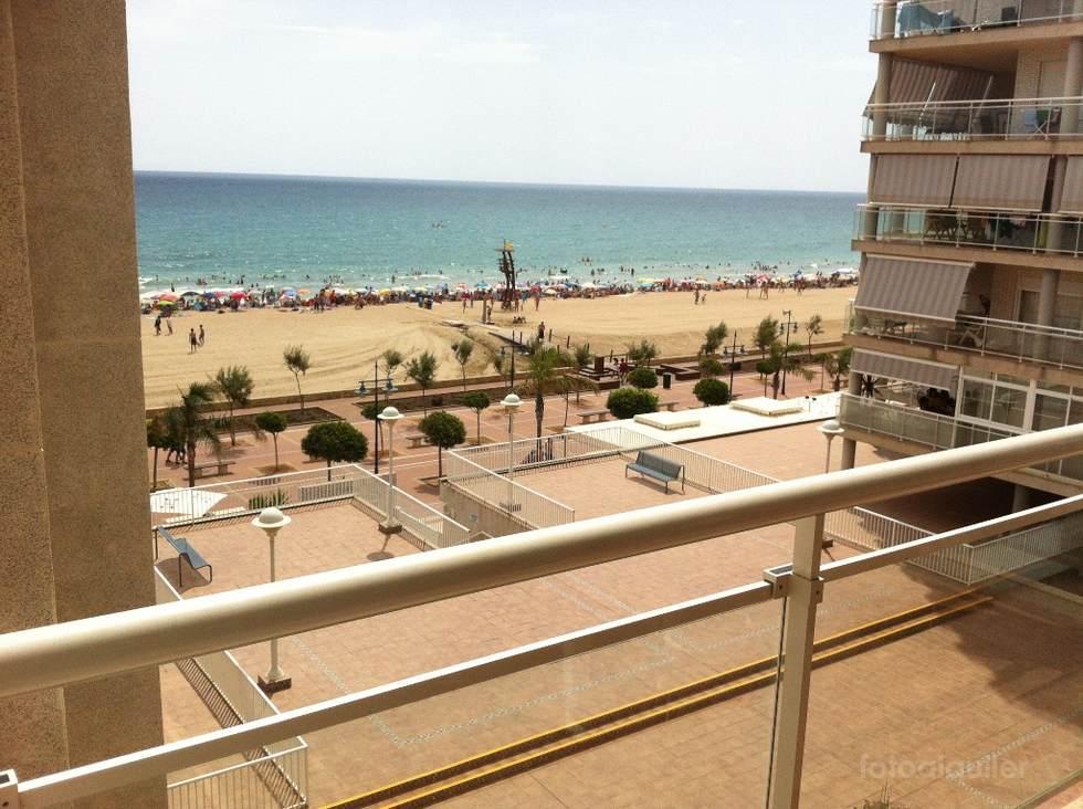 Alquiler de apartamento en primera línea de playa, Urbanización Argenta, Peñíscola, Castellón, ref.: peniscola-11107