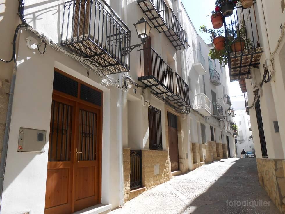 Alquiler de casa para 6 personas en el casco antiguo de Peñiscola, Castellón, ref.: peniscola-11187