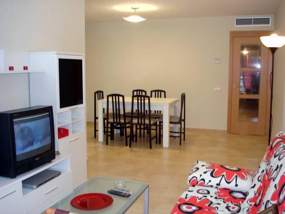 Alquiler de apartamento dos dormitorios en Llandells, Peñíscola
