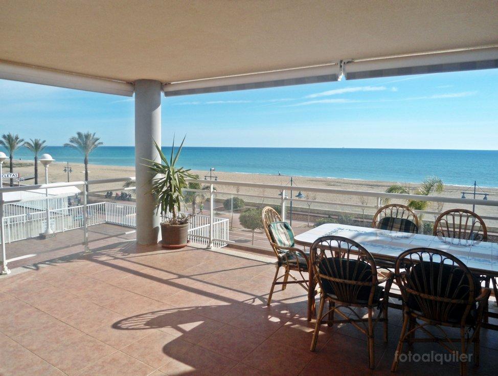 Primera línea playa apartamento urbanización Argenta, Peñíscola