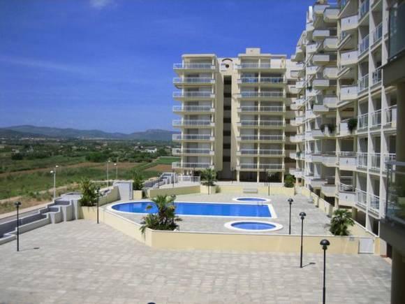 Alquiler de apartamento un dormitorios en Peñíscola, Urbanización Caleta I