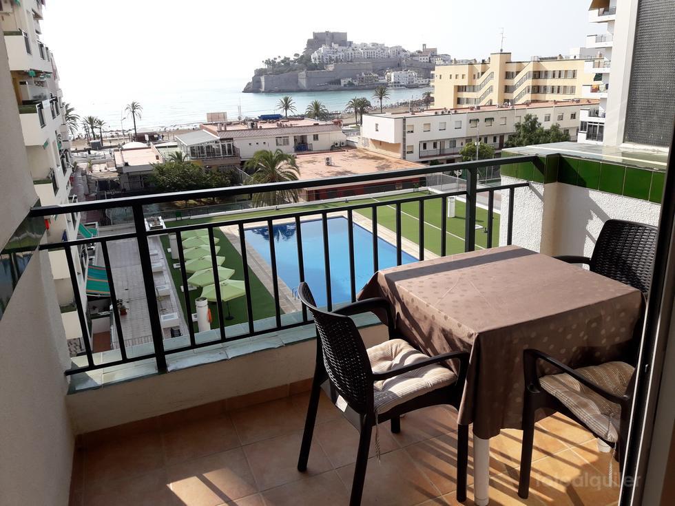 Apartamento en Peñíscola en primera línea de playa