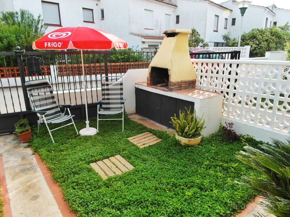Alquiler piso con jardín privado  en Peñíscola, urbanización Penismar II