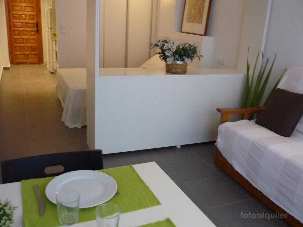 Alquiler apartamento un dormitorio en primera línea de playa, Peñíscola