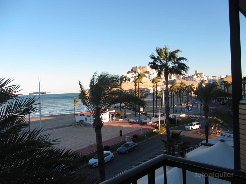 Primera línea playa, Alquiler de apartamentos en Peñíscola, Castellón, ref.: peniscola964