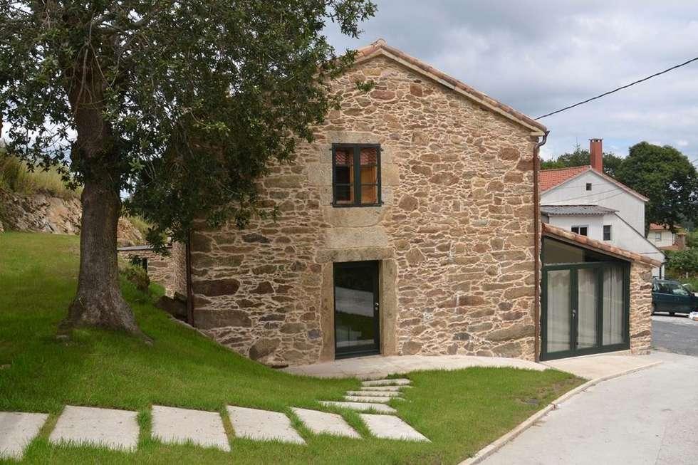 Casa Peón de Pardaces para 10 personas en Santiago de Compostela. Casa grande en A Coruña.