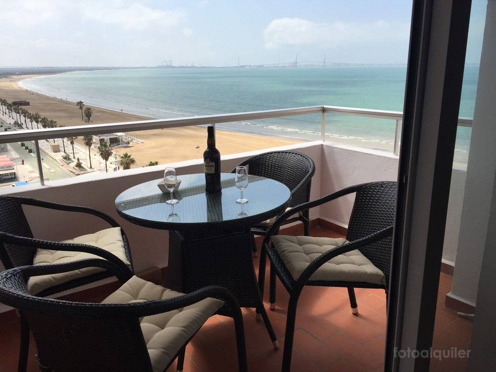 Playa Valdelagrana, Apartamento primera linea,  Puerto de Santa Maria