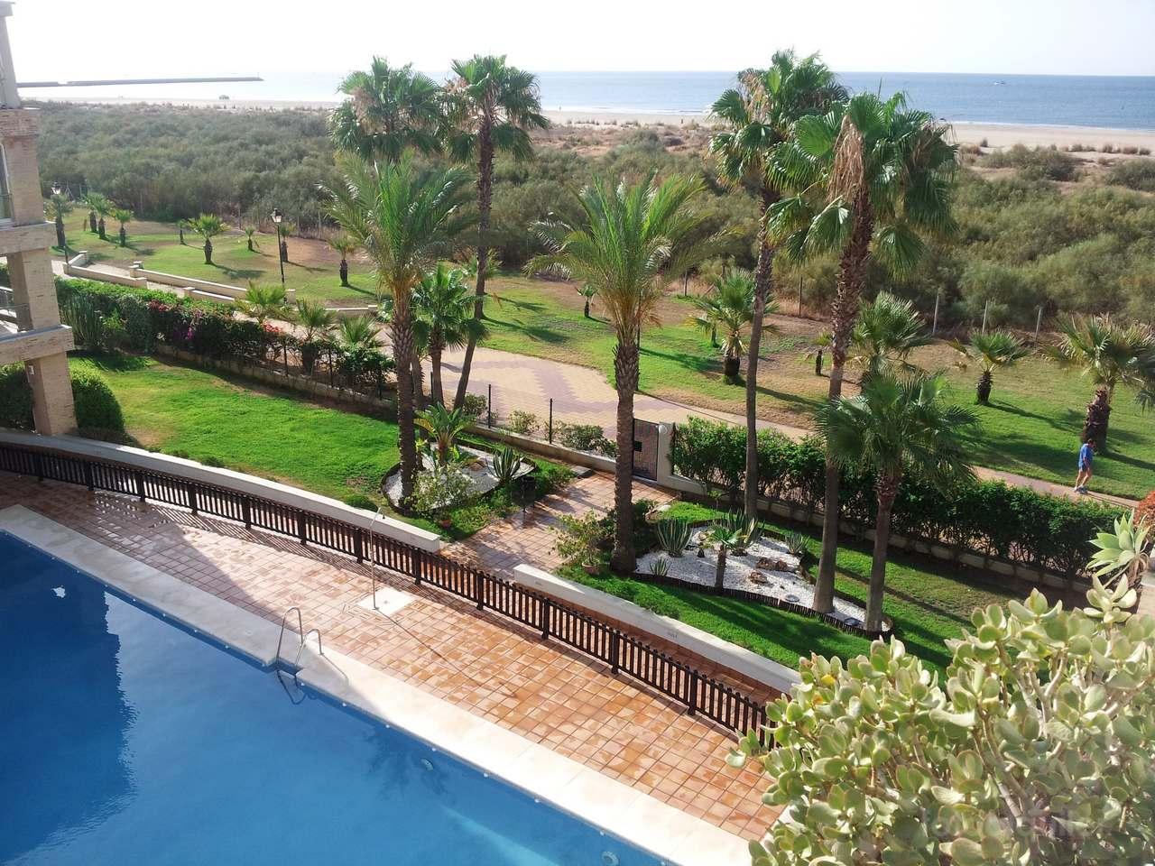 Apartamento primera linea playa urbanización El Espigón, Punta del Moral, Ayamonte