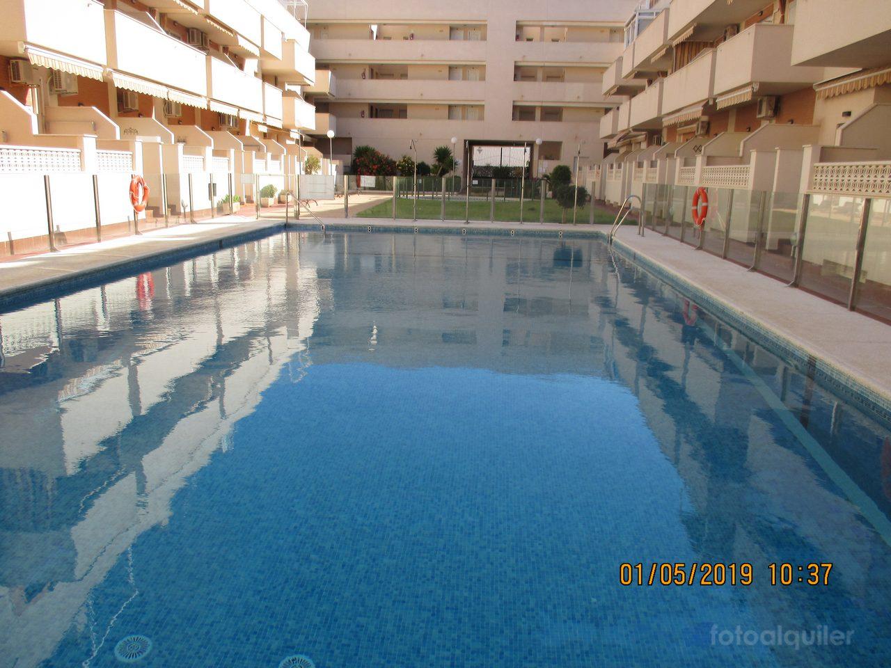 Alquiler apartamento un dormitorio en Roquetas de Mar, Residencial Buenavista