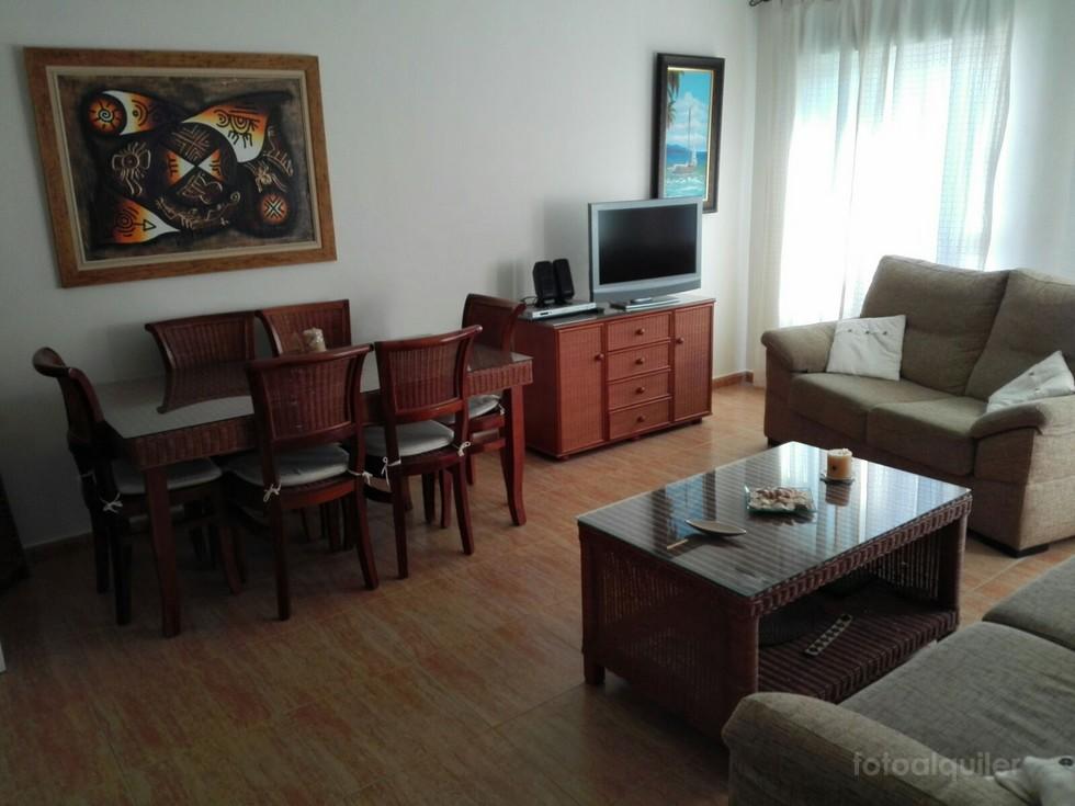 Primera línea de playa en Rota, Apartamento en urbanización La Ensenada