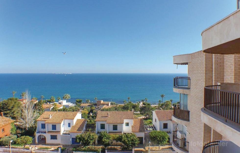 Amanecer viendo Tabarca, apartamento en Santa Pola, Alicante