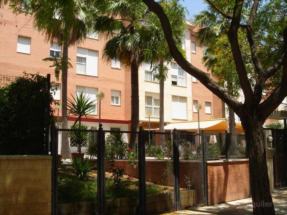 Alquiler de apartamento con piscina y garaje en Sevilla capital.