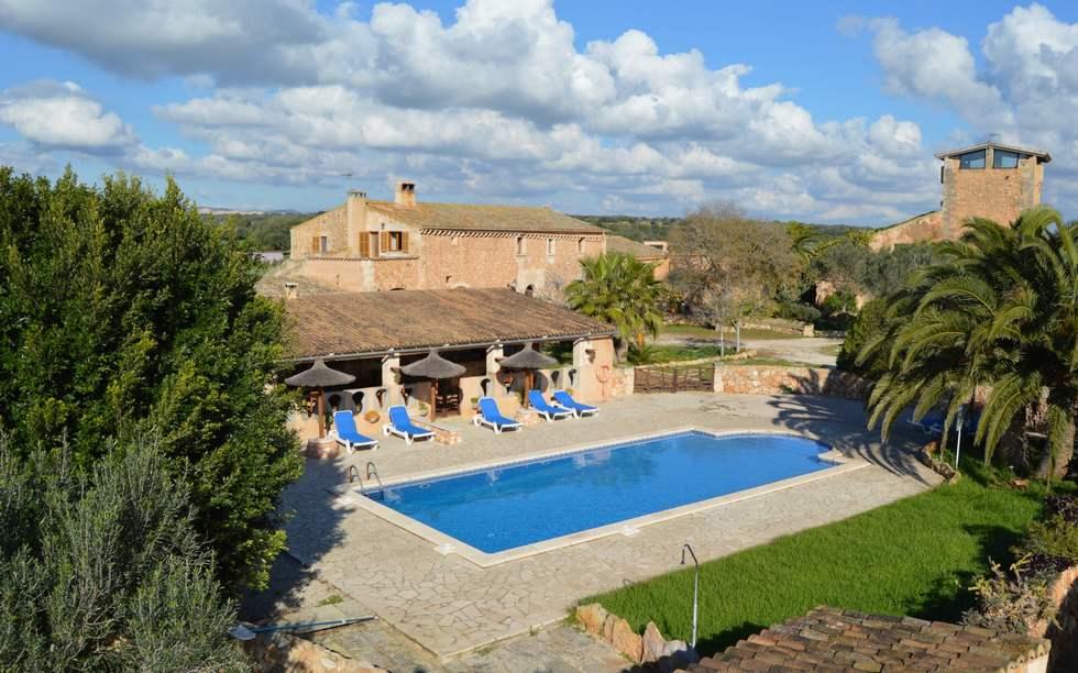La Volta, casa rural en Finca Son Lladó, Campos, Mallorca