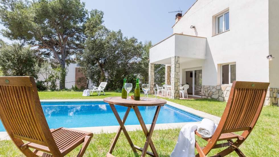 Alquiler de Villa Díaz, casa en Tamariu, Girona, Costa Brava