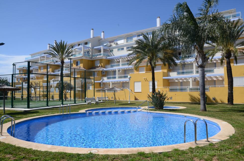 Alquiler de apartamento en Denia, Playa de Las Marinas, Denia, Alicante, ref.: v21