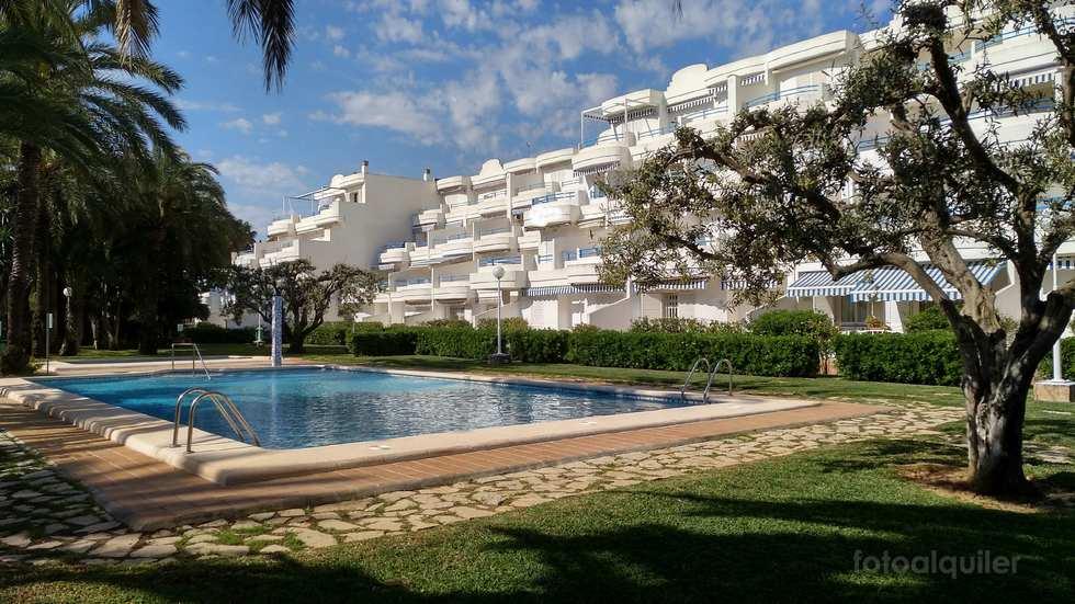 Apartamento en Denia, Urbanización Las Barcas, Playa de Las Marinas, Alicante, ref.: v64