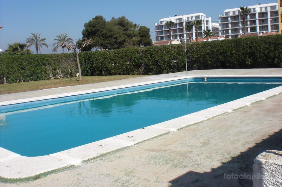 Primera linea Playa del Papa Luna, alquiler apartamento Urbanización Mar de Azahar