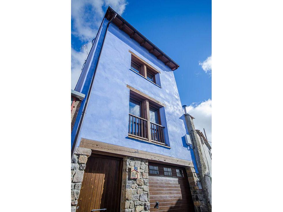 Alquiler de Casa Rural Valle de Araviana en Cueva de Agreda, Soria.