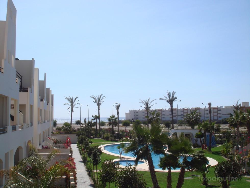Apartamento en Vera primera línea Urbanización Paraiso de Vera Playa