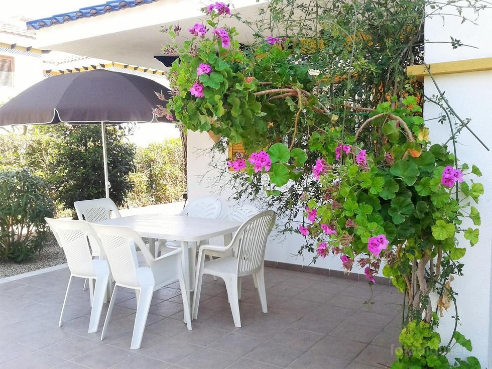 Alquiler de dúplex con jardin privado, Urbanización Veramar, Vera