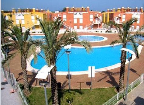 Alquiler apartamento verano en Vera, Urbanización Laguna Beach, Vera,