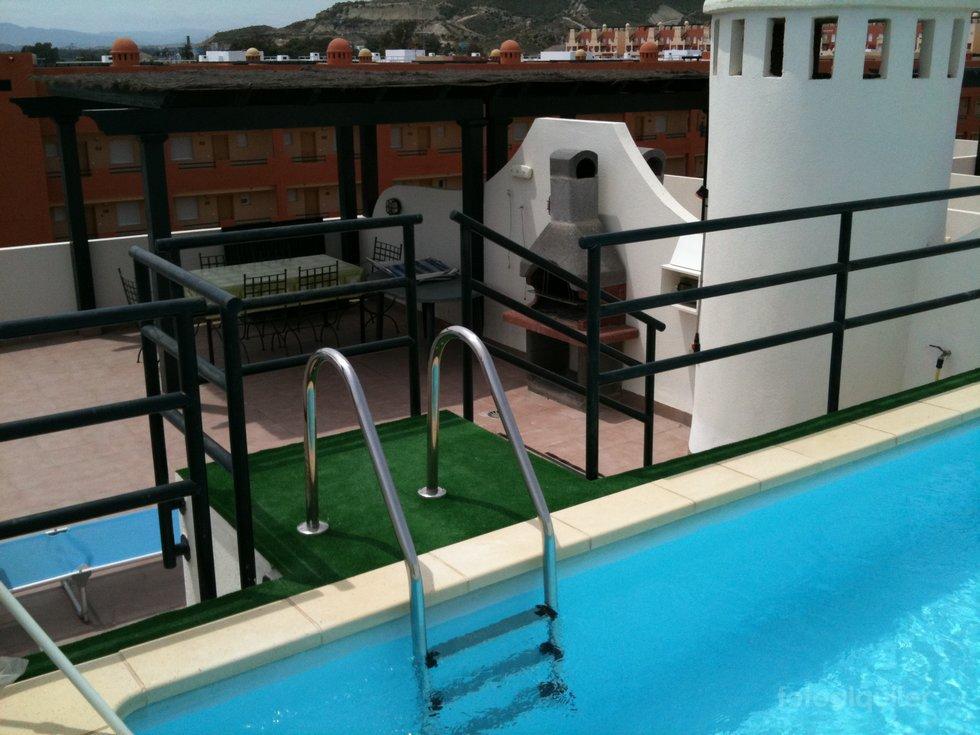Alquiler ático con piscina privada en Vera, Almería, ref.:vera3228