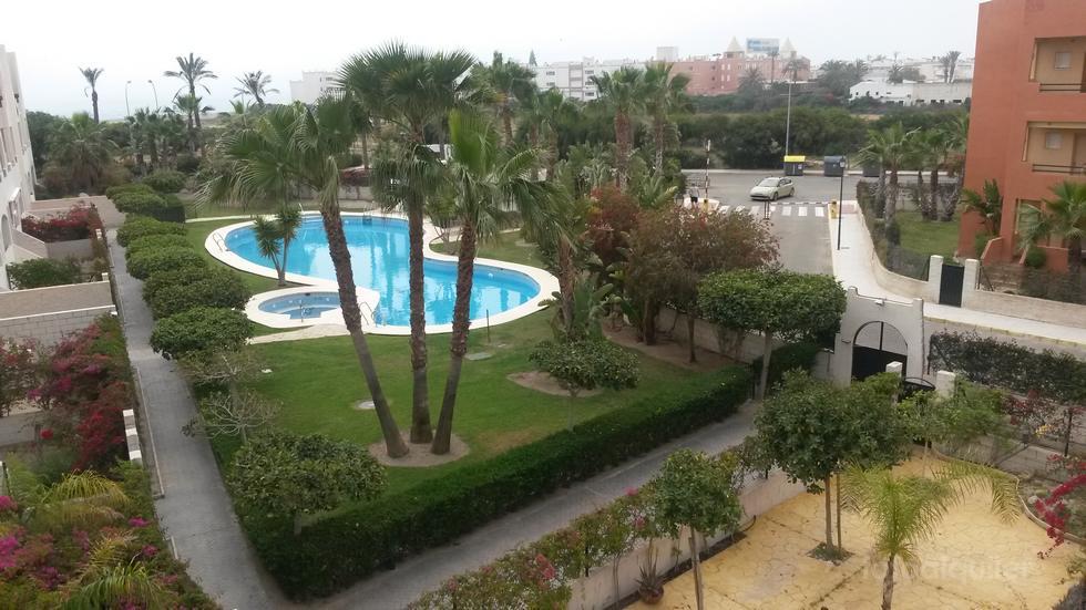 Alquiler de atico con piscina privada, Urbanización Paraiso de Vera, Vera