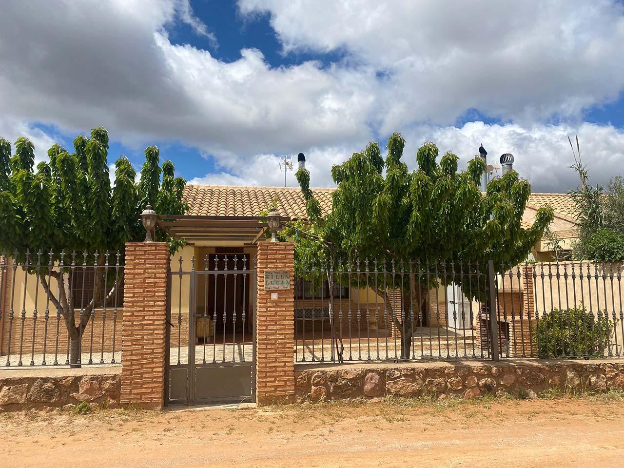 Villa Lucia, casa rural en Ossa de Montiel, Albacete.
